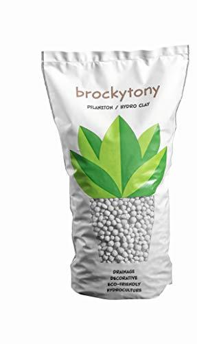 brockytony 4-8 mm. (Pflanzton, Pflanzgranulat, Blähton) 2 Liter. Delphin GRAU. BT406Y2