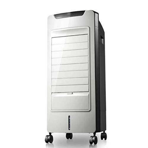 Raffrescatore Evaporativo Portatile Domestico Silenzioso Aria Condizionata Ventola di Raffreddamento 3 velocità 5L Serbatoio di Acqua 2H Temporizzazione Meccanica dell'Aria di Raffreddamento