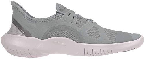 Nike Free RN 5.0 Women's Running Shoe Ocean Cube/MTLC Cool Grey-Pure Platinum Size 11