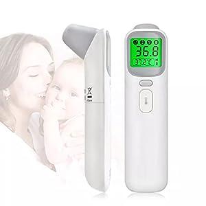 Termometro Digitale Per Bambini, Anuale Termometa Digitale A Orecchio Digitale, Misurazione Della Febbre Per Adulti A Infrarossi, Con Un Display LCD Accurato, Per Chiunque
