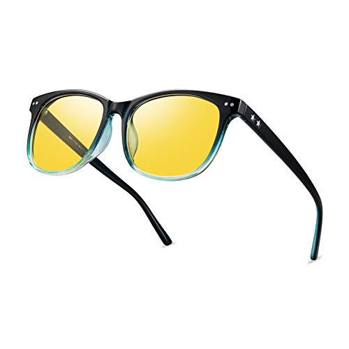 Night Vision Driving Glasses Polarized Anti-glare Clear Sun Glasses Men & Women...