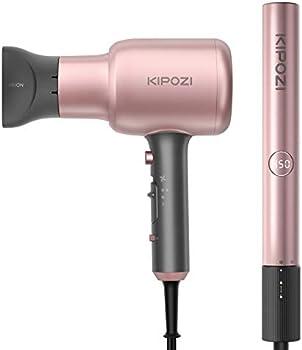 KIPOZI Hair Dryer, Blow Dryer, and Hair Straightener Set