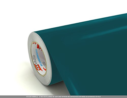 CLICKANDPRINT 3m Klebefolie, 63cm breit, Petrol » Klebefolie/Stickerfolie/Selbstklebefolie