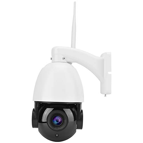 Telecamera di sicurezza Ptz Outdoor 30x Zoom Telecamera dome impermeabile Wifi Night Vision - Intelligent Motion Detection Alarm - Motion Tracking - Controllo AAP Supporto 128G Tf - Two Way Voi(eu)