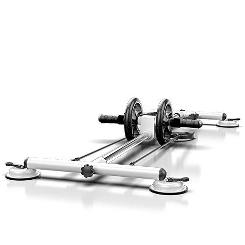 Nerioya Multifunktionale Klappbare Bauchrad Liuhe Familie Fitnessgeräte Gewichtsverlust Artefakt Sit-Ups Helfen Mit Kniender Matte,B