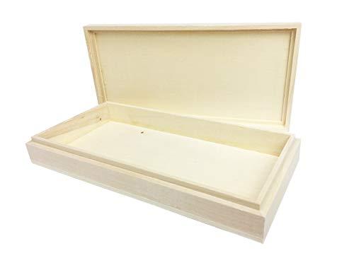 Caja de Madera para hacer turrones caseros y tabletas de chocolate. Medidas 20x10x3cm. Molde para barras de turrón o chocolate tradicionales. Hazlo tu mismo DIY