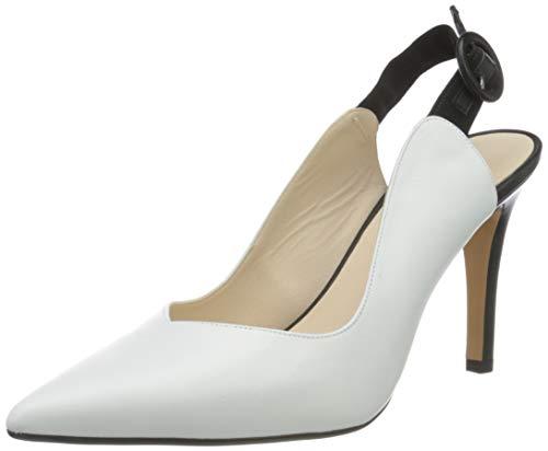 Lodi Damen Rutia Perlen Schuhe, California Blanco, 38 EU