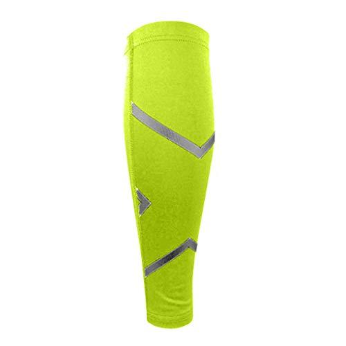 WoWer Beinlinge Knielinge Kompression Knieschutz Radsport Basketball Fußball Sonnenschutz Anti Rutschen für Herren Damen Kinder Jugend