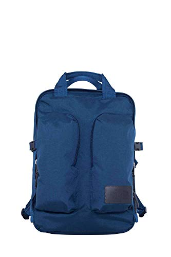 North Face Mini Crevasse, Mochila Unisex Adultos, Multicolor (Bluwngtealhthr/Aspha), 22x34.5x50 cm (W...