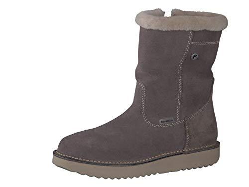 RICOSTA Pepino Mädchen Winterstiefel RIMA, WMS: Mittel, wasserfest, leger Winter-Boots Outdoor-Kinderschuhe gefüttert warm,Meteor,39 EU / 6 UK