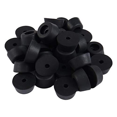 Découpage œillets en caoutchouc noir 19mm hole diamètre x 5