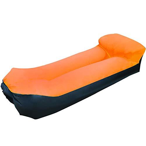 LWH Aufblasbares Sofa,185x70x52CM,Amphibisch,Leicht und tragbar,Anti-Rollover,200 kg maximale Last,Geeignet für drinnen und draußen