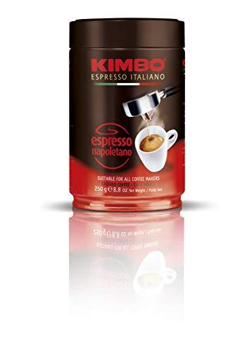 Kimbo Kaffee Espresso Napoletano gemahlen, 250g Dose