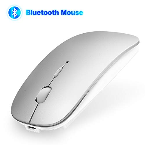 ANEWKODI Bluetooth Maus 4.0 Kabellose Maus für MacBook Pro/Air, iMac, Windows/Android PC, Laptop, Computer mit DPI Einstellbare Wiederaufladbare Maus Kompakt Leise