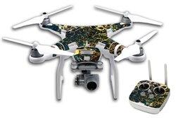 JWraps Original Galaxy Stone (DP629) Custom Designed Protective Vinyl Skin Wrap Cover for DJI Phanton 3 Professional Quadcopter Drone
