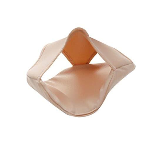 RUNWEI Hoet Orthotics - Cojín de Dolor de Silicona Anterior Thumble Big Pie Hueso Pie Care Pad Tacones Altos Dolor Maldito Mat (Size : S)