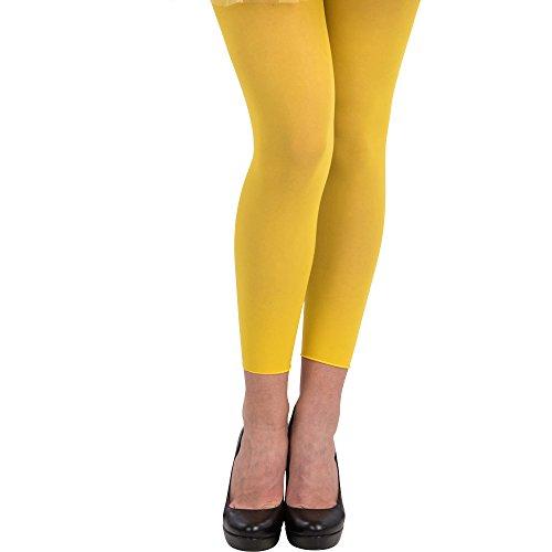 Leggins amarillos mujer