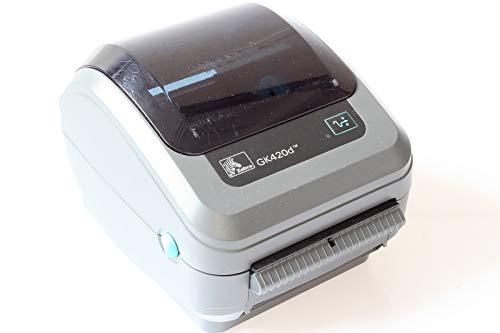 ZEBRA GK420d rev2 Etiketten-Drucker Thermodirekt 203 x 203 DPI Etikettenbreite (max.): 110mm USB, LA