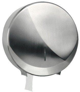 Blanc HYGIENIC • Jumbo-Toilettenpapierspender Futura Maxi aus gebürstetem Edelstahl • Ø max. 260 mm je Rolle