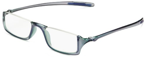 OPTX 20/20 Ecoclear Flora Bio Based Reading Glasses, Photochromic Blue/Purple, One Size, 1.50