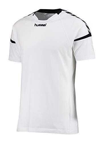 Hummel Herren Auth Charge Ss Train Jersey T-shirt, White, M
