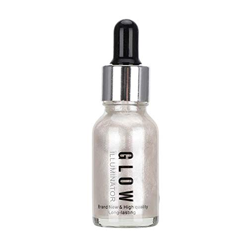 15ml Highlighter líquido, Shine Face maquillaje Bronceadores Cosméticos de la cara de contorno Corrector Líquido Shining Iluminadora(#01)