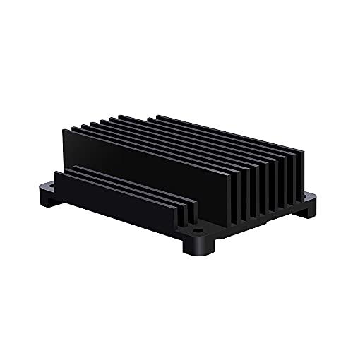 GeeekPi Aleación de Aluminio CNC disipador de Calor pasivo enfriamiento Caso radiador para Frambuesa Pi Compute módulo 4 CM4 Placa Madre