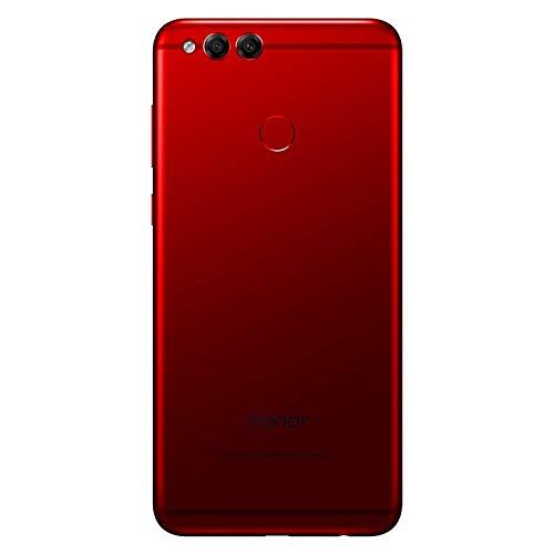 Honor 7X Smartphone 15,06 cm (5,93 Zoll) Bildschirm interner Speicher, Android 7.0 (4+32GB, Rot)