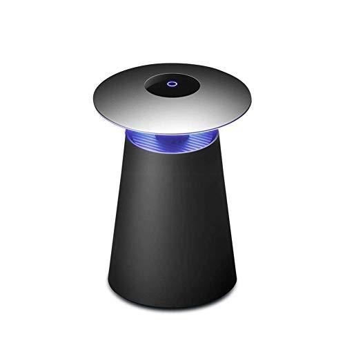 NAFE 2 in 1Mosquito Lampe, effizient und leise, tragbare USB wiederaufladbar, schwarz, für Indoor Outdoor Schlafzimmer Küche Office Home