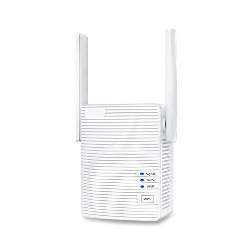 WiFi Rango Extensor Señal Booster Repetidor, Añadir Cobertura hasta En Su Casa Extend 2.4ghz -5ghz WiFi Easy Setup 1200mbps