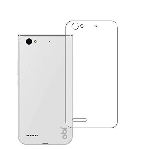 Vaxson 2 Stück Rückseite Schutzfolie, kompatibel mit Obi Worldphone MV1, Backcover Skin TPU Folie Haut [nicht Panzerglas Bildschirmschutzfolie Hülle Hülle ]