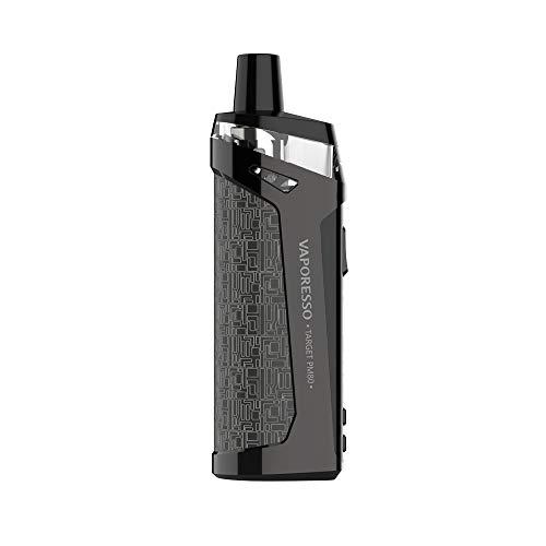 """Cigarettes électroniques Vaporesso TARGET PM80 Kit de module de pod sub-ohm 2000mAh avec écran TFT de 0,96 """"et pod de 4 ml sans liquide ni nicotine (silver)"""