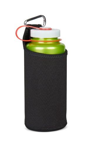 Nalgene Kunststoffflaschen 'Bottle Clothing' Trinkflasche, Schwarz, Einheitsgröße