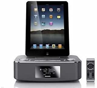 Philips Dc291/37 Aluminum Iphone/ipod/ipad Dock Station System Fm Alarm Clock Fast Shipping with Tracking Number
