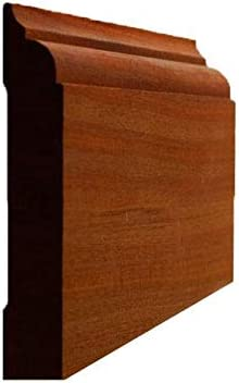 Sapele High quality Ranking TOP2 Mahogany Nose Cove Baseboard Moulding 16