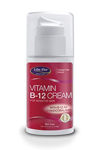 Vitamin B-12 Cream Fragrance Free 113g by Life Flo