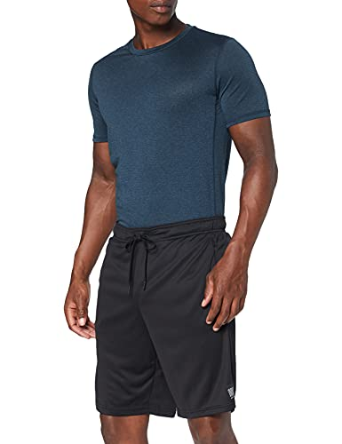 Superdry Herren Training Relaxed Shorts, Black, X-Large
