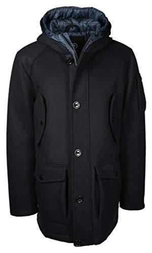 Eu Herren Blaublau 58 Mantel Reset Größe T1KculFJ3