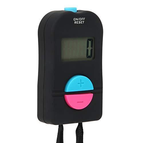 Pwshymi Contador Digital con indicación de Voz Contador de conteo electrónico Duradero 100% Nuevo con Material fAbs