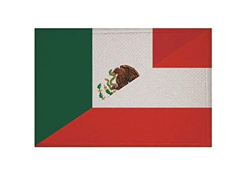 U24 Aufnäher Mexiko-Österreich Fahne Flagge Aufbügler Patch 9 x 6 cm