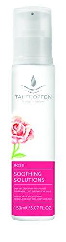 Tautropfen Soothing/Rose, Sanftes Gesichtsreinigungsgel für sensible und empfindliche Haut, 150 ml