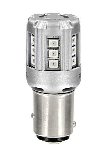 Osram 1457YE-02B LEDP21/5 W 12 V Ampoules standard Retrofit Ambre Double Blister