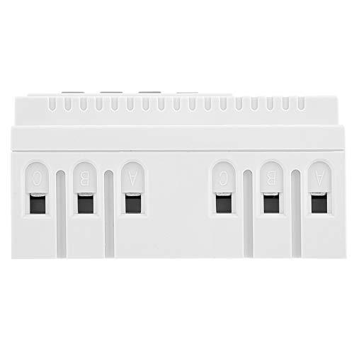 Mini Interruptor Temporizador, Interruptor Temporizador programable semanal de 380 V, Interruptor de Control de Tiempo de relé de Tiempo Digital para Interruptor Inteligente de Bomba de