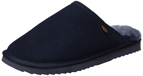 Warmbat Unisex Classic Pantoffeln, Blau (45 Dark Navy), 41 EU