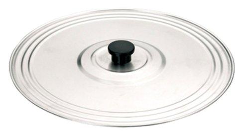 IBILI Deckel Prisma verstellbar 30-36 cm aus Edelstahl, Silber, 36 cm