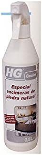 HG Especial encimeras de piedra natural 500ml - es un limpiador de encimeras de cocina