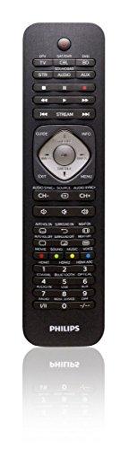 Philips SRP5016/10telecomando universale 6in 1 per TV, Blu-Ray, STB, streaming, SB, AUX; colore: nero