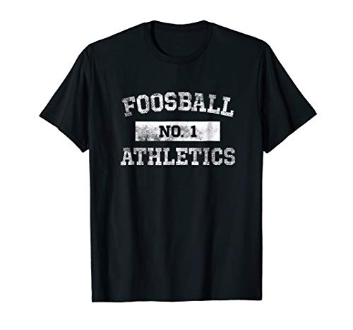 Foosball Athletics T Shirt No. 1 Distressed