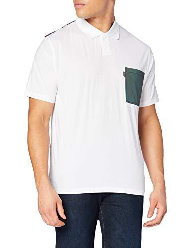 BOSS Herren Penorth Polohemd, White100, L