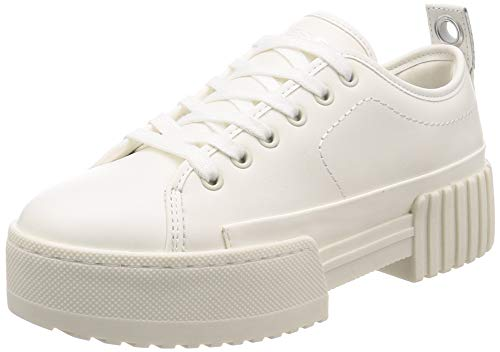 Diesel Damen S-MERLEY LC-Sneakers Turnschuh, Star White, 39 EU